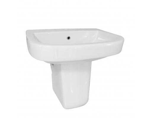 Lavoar de baie cu semipiedestal Neo 0