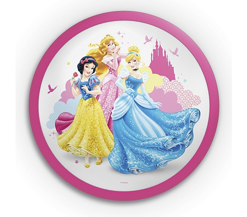 Aplica Disney Princess, K 1xLED/4W ,IP20 , roz, Philips 0