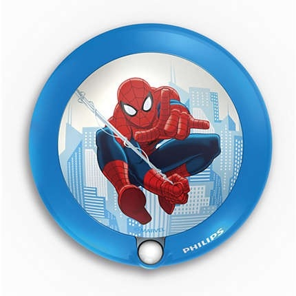 Lampa de veghe cu senzor Spiderman, K 1xLED/0,06W, IP20, Philips 0