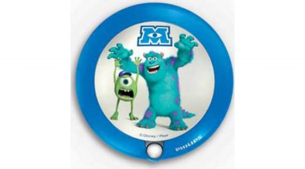 Lampa de noapte, Monsters University, LED, Philips 0