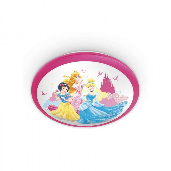 Aplica Disney Princess, K 1xLED/4W ,IP20 , roz, Philips 1