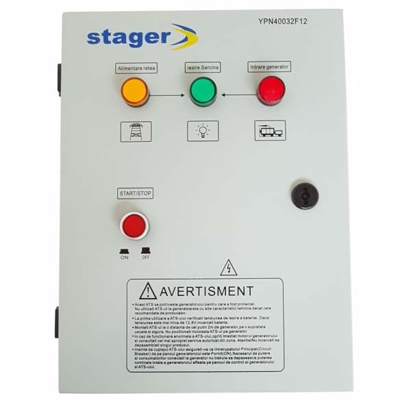 Automatizare pentru generator, trifazata, Stager YPN40032F12 1
