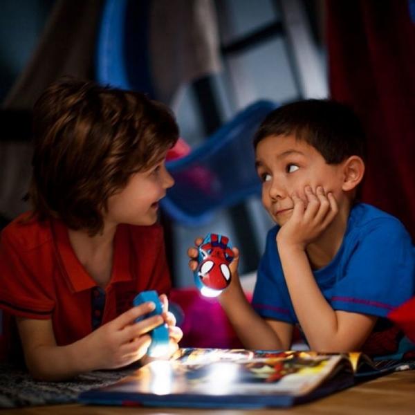 Lanterna Disney Spiderman K 1xLED/0,3W IP20, Philips 1
