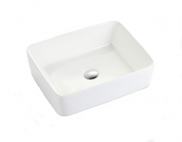 Lavoar baie pe blat Square Foglia 1