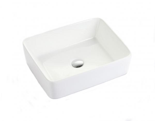 Lavoar baie pe blat Square Foglia