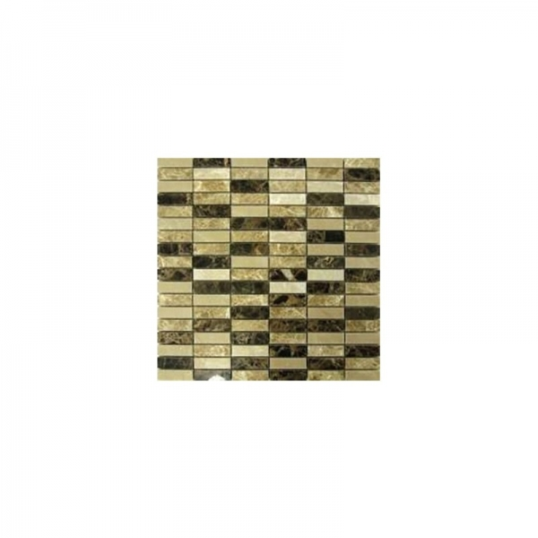 Mozaic din piatra crem Emperador, 30x30 0