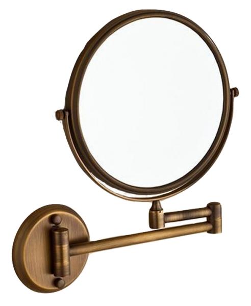 Oglinda cosmetica pentru baie, culoare antichizata, Foglia