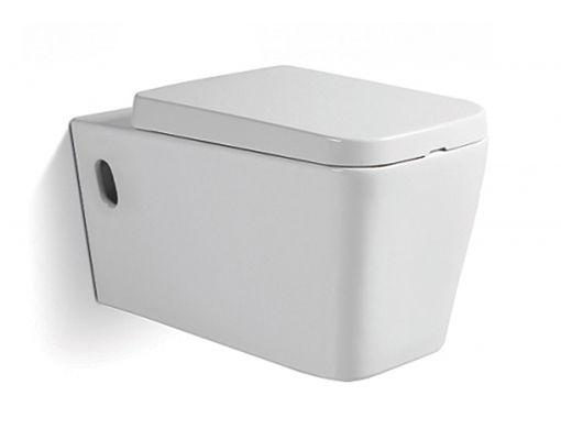 Vas wc suspendat Square cu capac soft close inclus 0